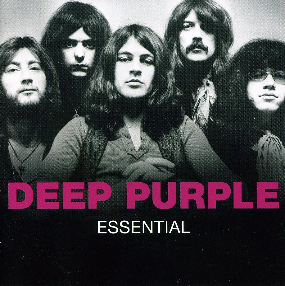 DEEP PURPLE - The Essential cover