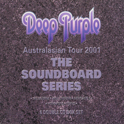 DEEP PURPLE - The Soundboard Series cover