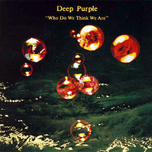 DEEP PURPLE - Who Do We Think We Are cover