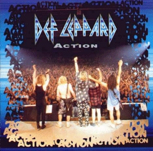 DEF LEPPARD - Action cover