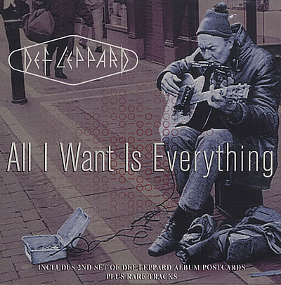 DEF LEPPARD - All I Want Is Everything cover
