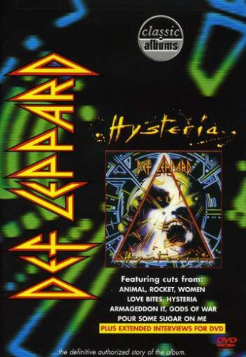 DEF LEPPARD - Classic Albums: Hysteria cover
