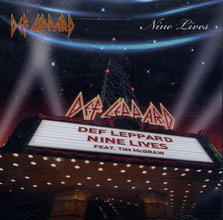 DEF LEPPARD - Nine Lives cover