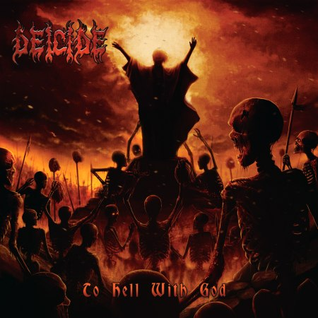 DEICIDE - To Hell With God cover