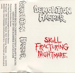 DEMOLITION HAMMER - Skull Fracturing Nightmare cover 