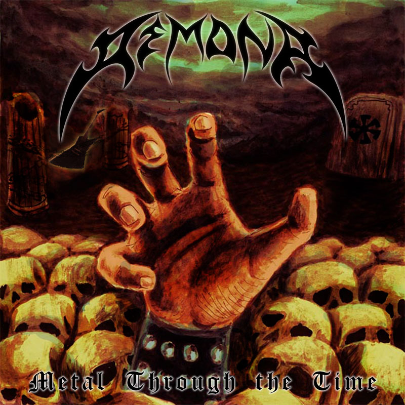 DEMONA - Metal Through the Time cover