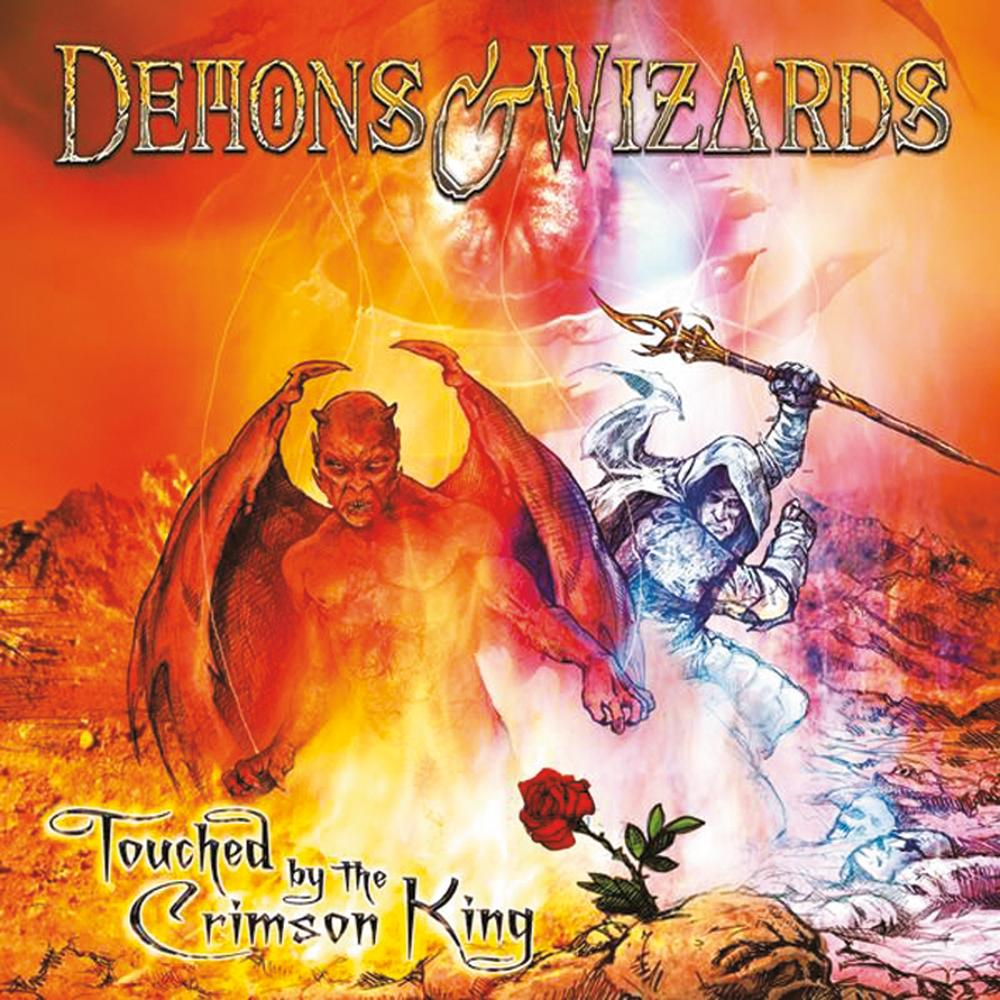 DEMONS & WIZARDS - Touched by the Crimson King cover