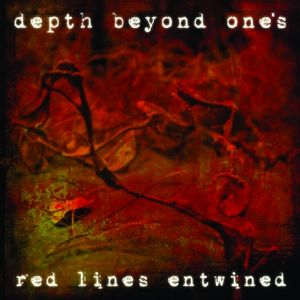 DEPTH BEYOND ONE'S - Red Lines Entwined cover