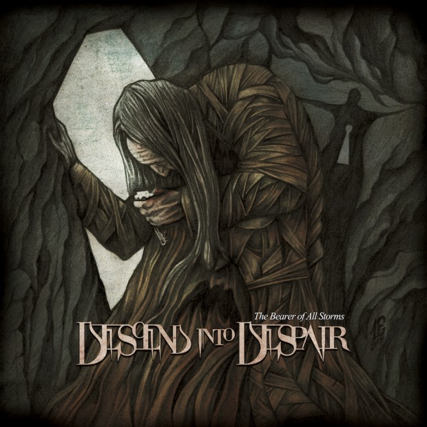 DESCEND INTO DESPAIR - The Bearer of All Storms cover