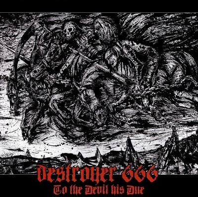DESTRÖYER 666 - To the Devil His Due cover