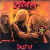 DESTRUCTION - Best of Destruction cover