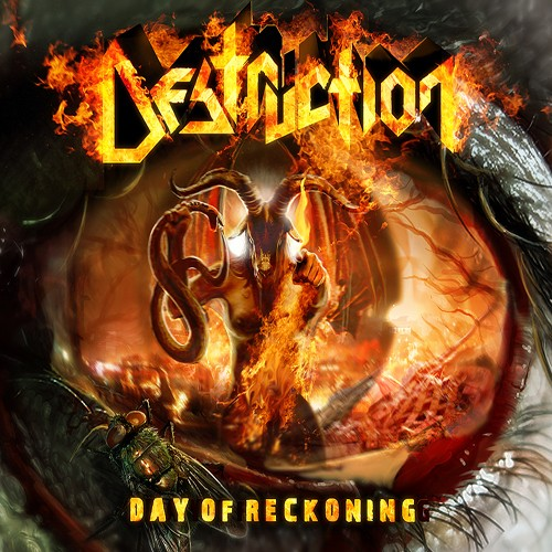 DESTRUCTION - Day of Reckoning cover