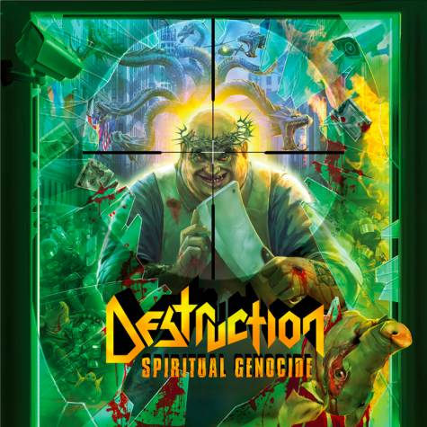 DESTRUCTION - Spiritual Genocide cover