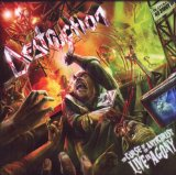 DESTRUCTION - The Curse of the Antichrist: Live in Agony cover