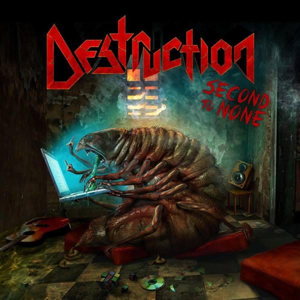 DESTRUCTION - The Devil Strikes Again / Second to None cover