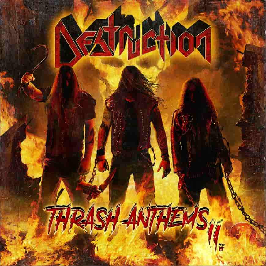 DESTRUCTION - Thrash Anthems II cover