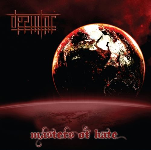 DESULTOR - Masters of Hate cover