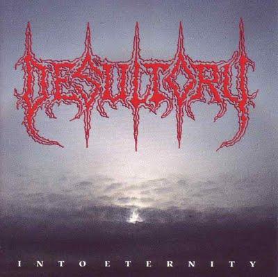 DESULTORY - Into Eternity cover