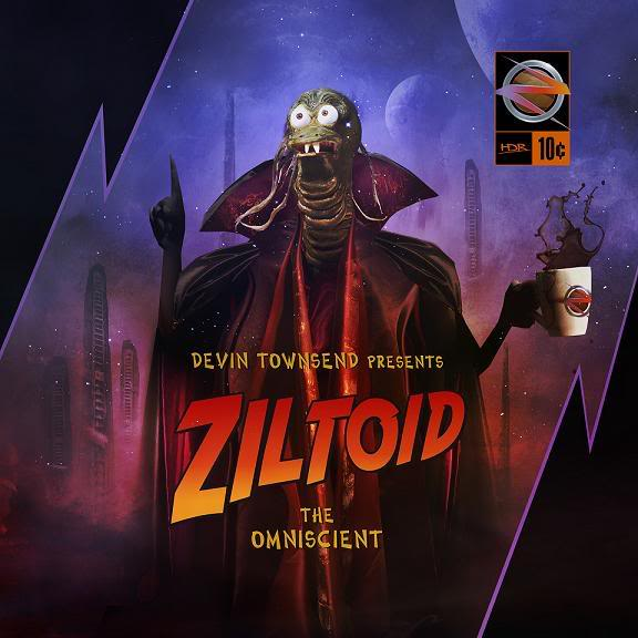 DEVIN TOWNSEND - Ziltoid The Omniscient cover