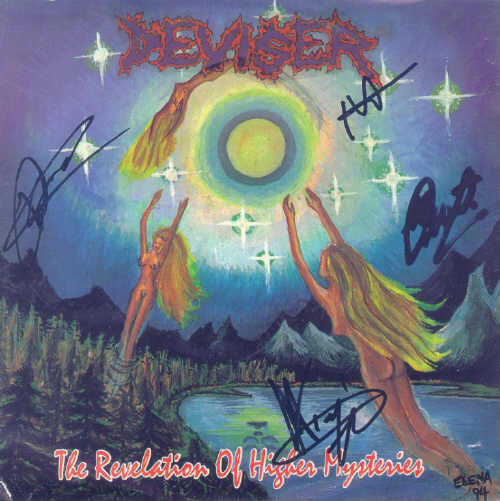 DEVISER - The Revelation of Higher Mysteries cover 