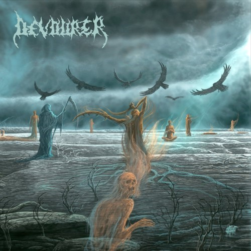 DEVOURER - Across the Empty Plains cover