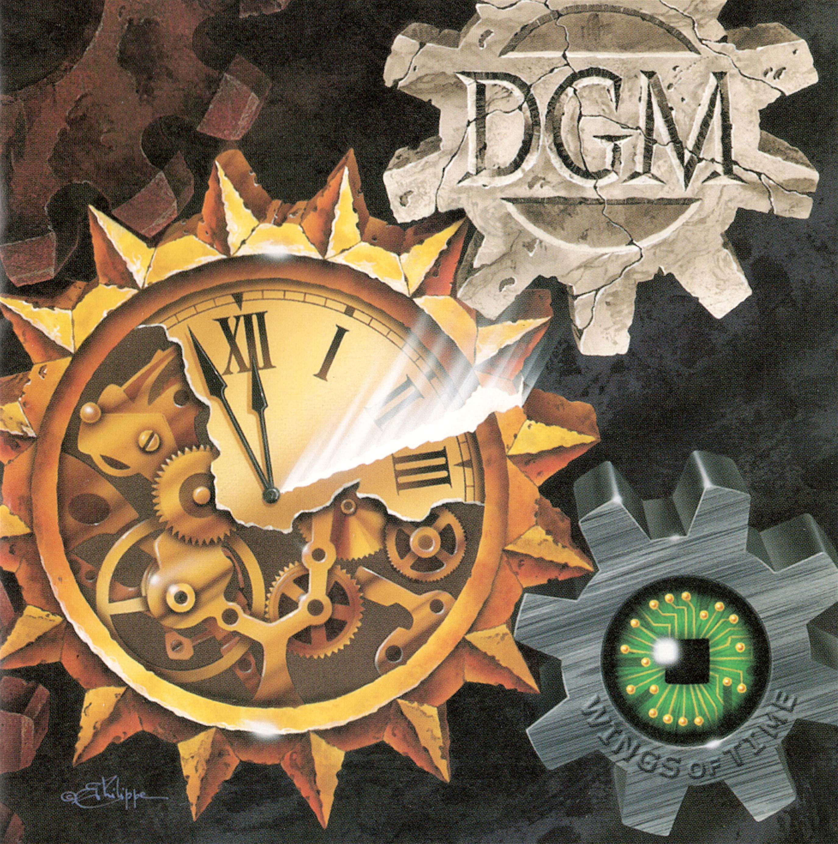 DGM - Wings of Time cover