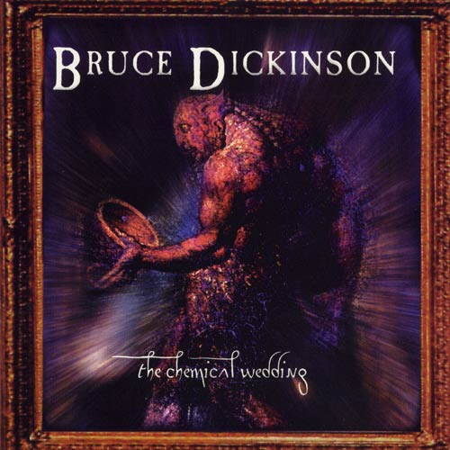 BRUCE DICKINSON - The Chemical Wedding cover