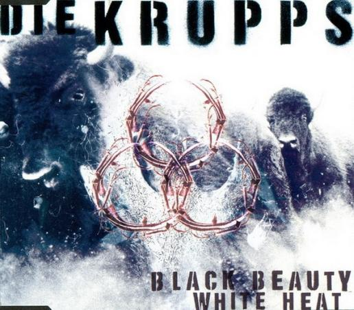 DIE KRUPPS - Black Beauty White Heat cover