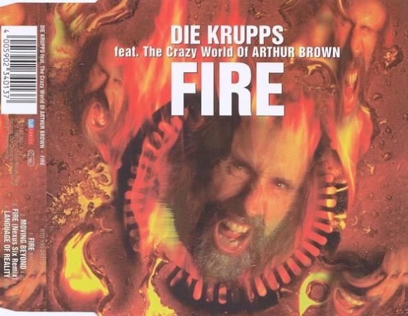 DIE KRUPPS - Fire cover