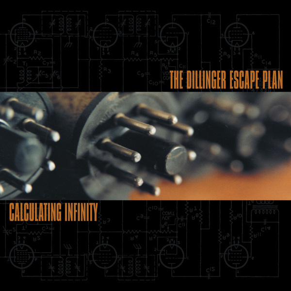 THE DILLINGER ESCAPE PLAN - Calculating Infinity cover