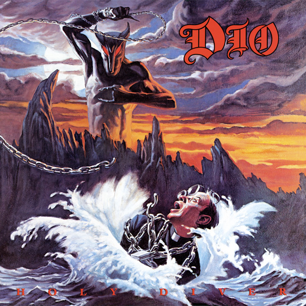 DIO - Holy Diver cover