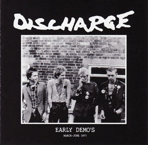 DISCHARGE - Early Demo's cover