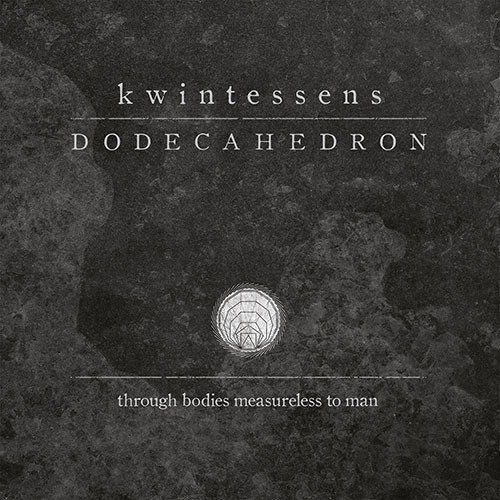 DODECAHEDRON - Kwintessens cover