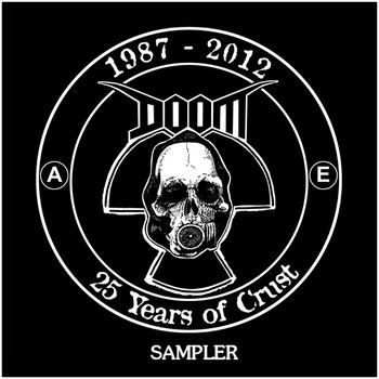DOOM - 1987-2012 25 Years Of Crust cover