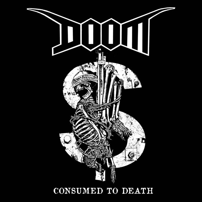 DOOM - Consumed To Death cover