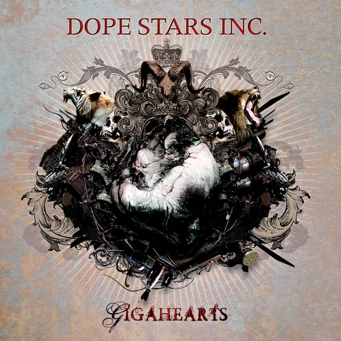 DOPE STARS INC. - Gigahearts cover