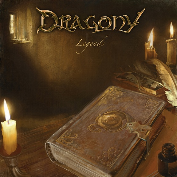 DRAGONY - Legends cover
