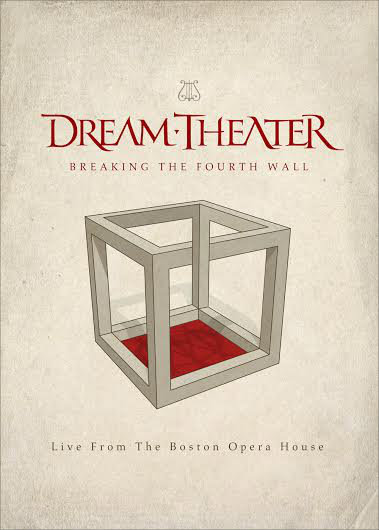 DREAM THEATER - Breaking The Fourth Wall cover