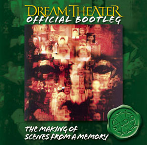 DREAM THEATER - The Making of Scenes From A Memory cover