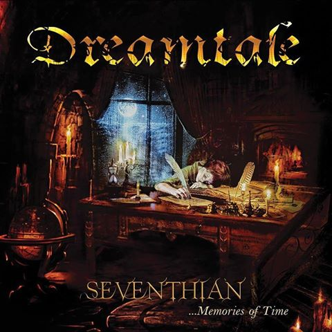 DREAMTALE - Seventhian ...Memories of Time cover