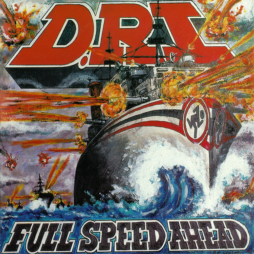 D.R.I. - Full Speed Ahead cover