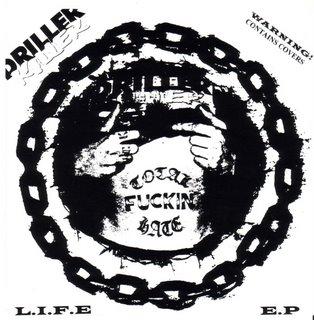 DRILLER KILLER - L.I.F.E E.P cover