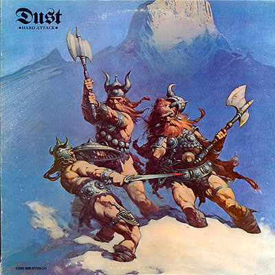 DUST - Hard Attack cover