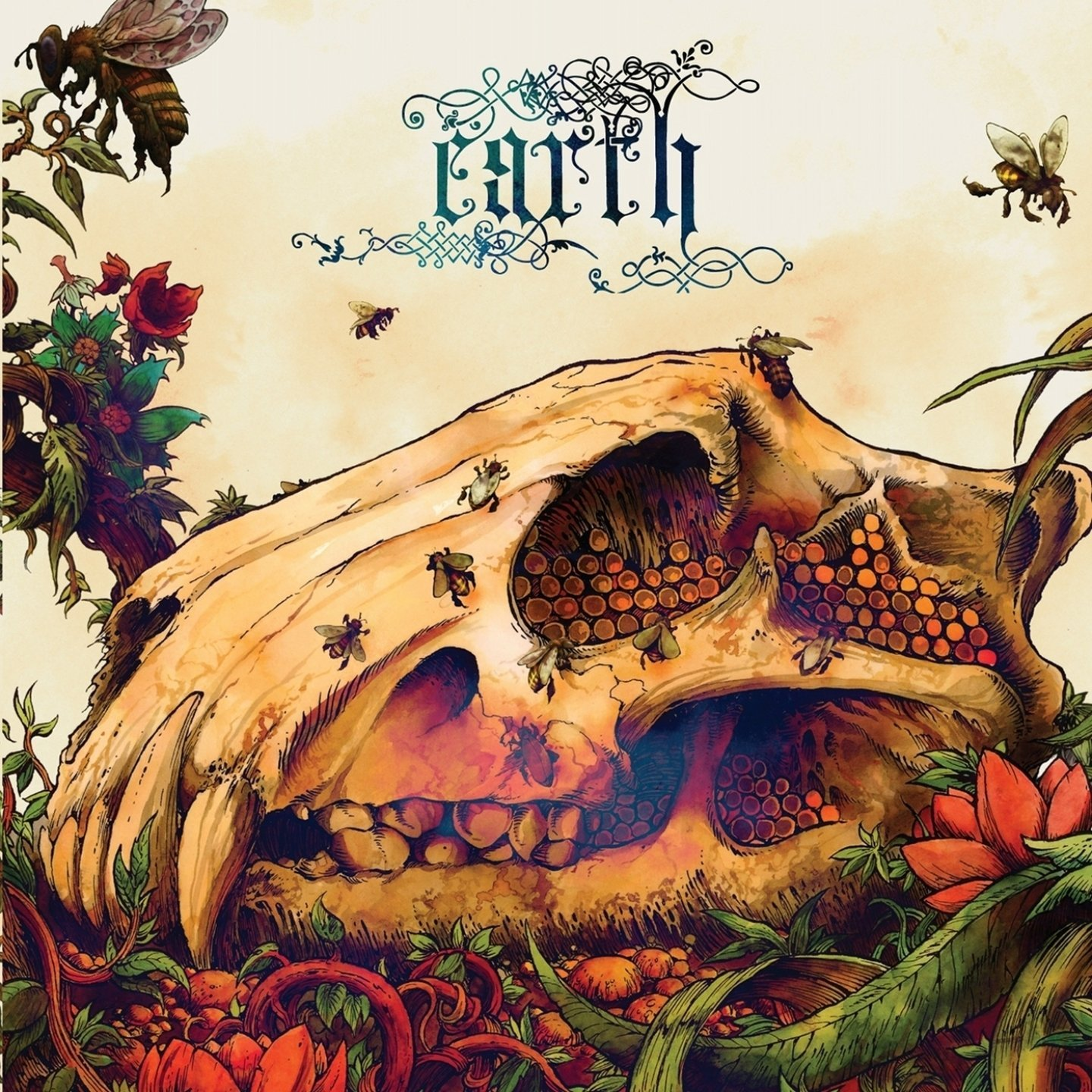 EARTH - The Bees Made Honey In The Lion's Skull cover