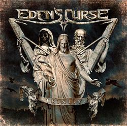EDEN'S CURSE - Trinity cover