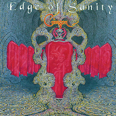 EDGE OF SANITY - Crimson cover