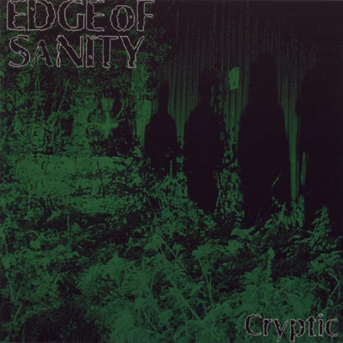 EDGE OF SANITY - Cryptic cover