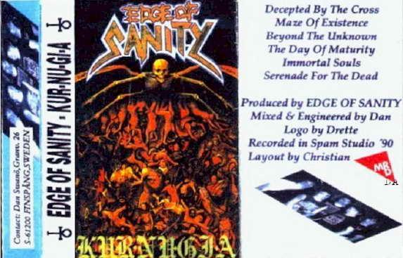 EDGE OF SANITY - Kur-Nu-Gi-A cover