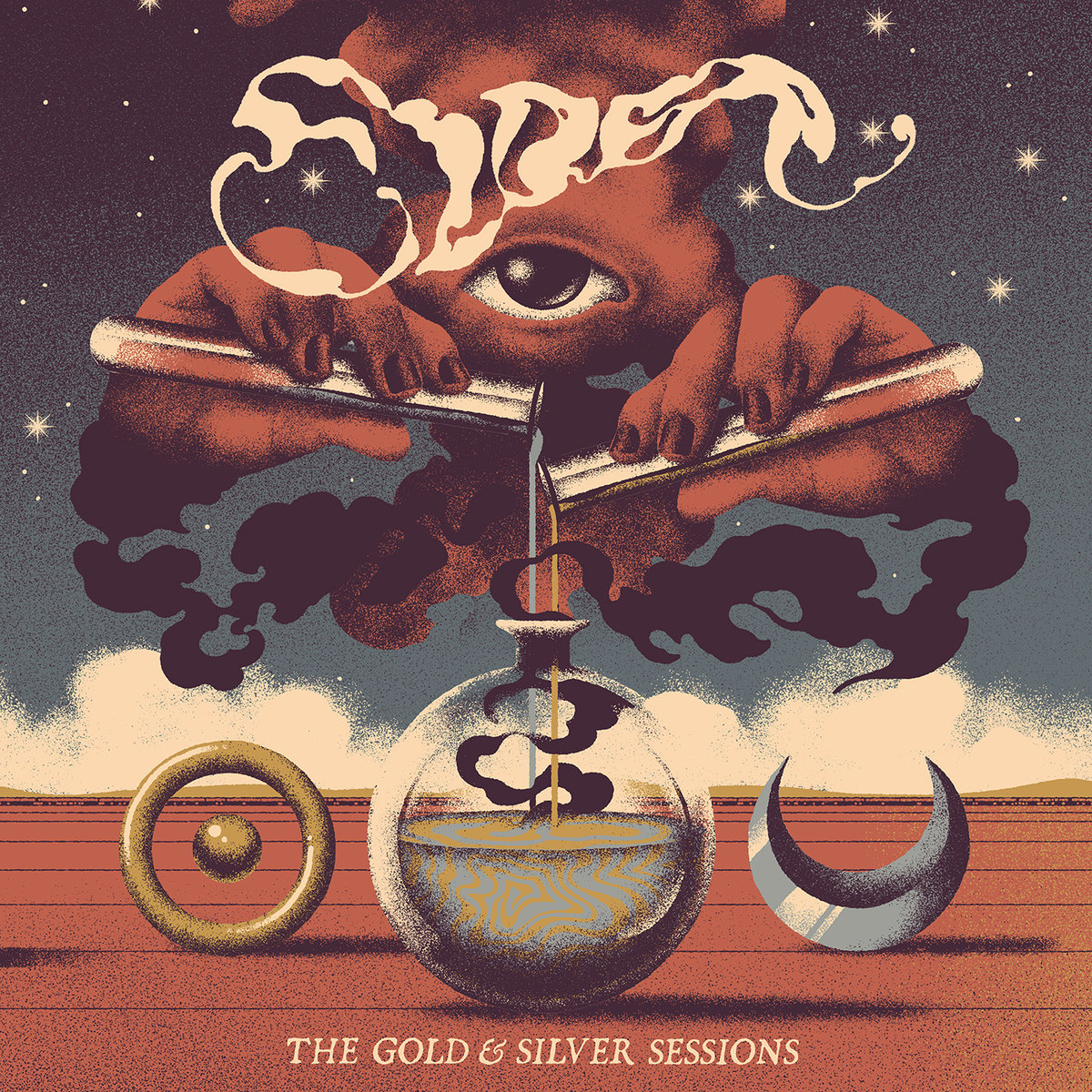 ELDER - The Gold & Silver Sessions cover