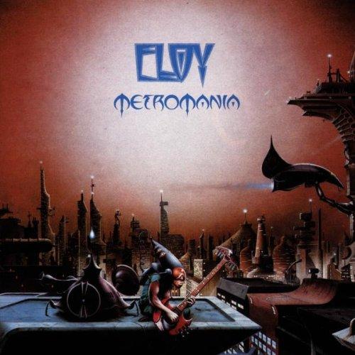 ELOY - Metromania cover